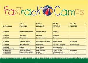 Summer Camps Fastrackids