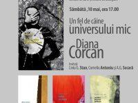 """Lansare de carte la Librăria """"Humanitas"""": """"Un fel de câine al universului mic"""", volum semnat de poeta Diana Corcan"""