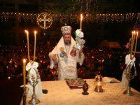 Zece mii de gălăţeni au participat la Slujba Învierii, oficiată la Catedrala Arhiepiscopală de ÎPS dr. Casian Crăciun