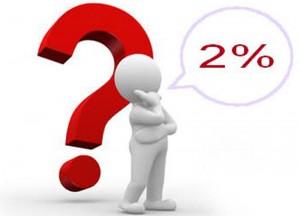 Direcţionarea a 2% din impozitul pe profit, până pe 26 mai