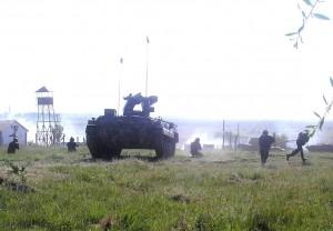 Militarii Batalioanelor 300 Infanterie şi 284 Tancuri din Galaţi pleacă în Germania, pentru un exerciţiu militar comun cu US Army