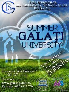 """Descoperă viaţa de student la """"Universitatea Dunărea de Jos"""". Începe """"Galaţi Summer University 2014"""""""
