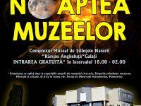 """O sugestie pentru """"Noaptea Muzeelor"""": observarea """"Lunii"""" şi a planetelor """"Saturn"""" şi """"Jupiter"""" cu telescopul Observatorului Astronomic"""