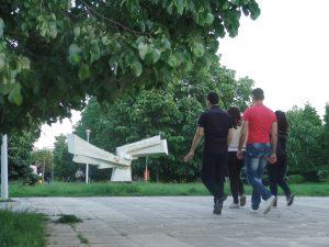 GALERIE FOTO: Monştri în Parcul Cloşca
