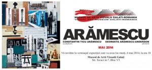 """Expoziţie """"Arămescu"""" la Muzeul de Arte Vizuale"""