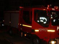Mașină în flăcări