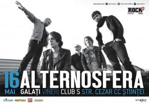 Concert Alternosfera în Club S. Află aici preţul biletului
