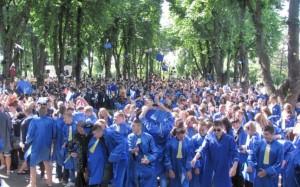 Parada absolventilor