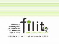 Miercuri, 1 octombrie, începe, la Iași, Festivalul internațional de Literatură și Traducere – FILIT 2014