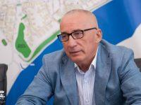 Primarul Marius Stan a semnat, la Londra, contractul de împrumut de 100 milioane de lei de la BERD