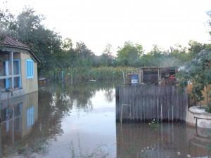 Cod galben de inundaţii pentru afluenții Prutului și Siretului din județul Galați
