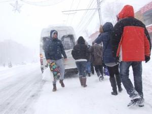 ninsoare 29.12.2014 Galati