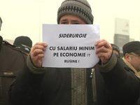 Administraţia ArcelorMittal, înainte de mitingul de astăzi: Dialogul social trebuie protejat, dar legea nu poate fi încălcată