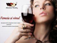 """""""Femeia şi vinul"""", seminar de iniţiere în arta degustării vinului"""