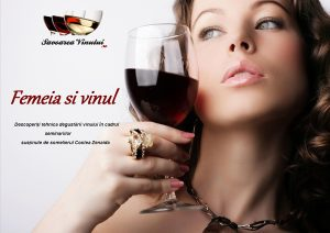 Vinul şi doamnele, seminar de iniţiere în arta degustării vinului