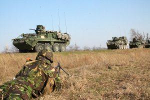 Peste 2.000 de militari NATO vin astăzi la Smârdan