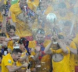 Steaua a câştigat titlul cu ajutorul Oţelului