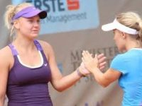 "TENIS: Două moldovence s-au impus la dublu.  Astăzi de la ora 17.00 are loc finala de simplu la ""Viva Club Open"""