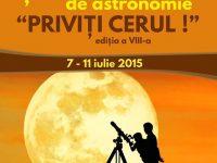 """Start înscrieri la Şcoala de vară de astronomie """"Priviţi cerul!"""""""