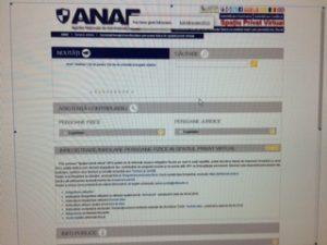 ANAF pune la dispoziţia contribuabililor persoane fizice – Spaţiul Privat Virtual