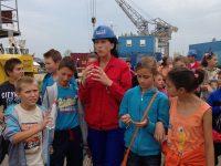 Colaborare remarcabilă între Fundaţia Inimă de Copil şi Şantierul Naval Damen Galaţi: 140 de copii beneficiază de sprijin