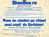 O speranță pentru copiii defavorizați înainte de Sărbători – Shoebox