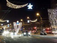 Galați: Iarna 2015-2016, prima fără iluminat festiv după foarte mulți ani