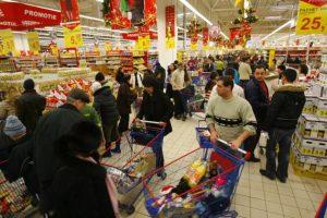 Toate supermarketurile din Galați vor fi închise pe 25 decembrie și pe 1 ianuarie