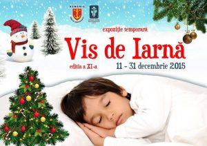 """11-31 decembrie 2015: """"VIS DE IARNĂ""""  la Grădina Botanică"""
