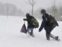 Galaţi: Şcolile din mediul rural sunt închise şi astăzi, 19 ianuarie