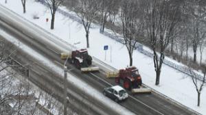 Scurtă iarnă la Galaţi: fără incidente majore
