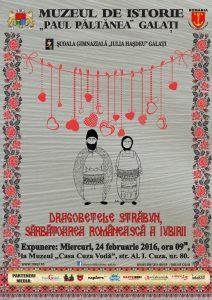 24 februarie 2016: Sărbătoare românească a iubirii de DRAGOBETE