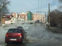 Prea cald pentru a primi apă caldă şi căldură: Avarie în tot oraşul în urma cedării unei ţevi în zona Privilege