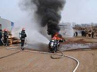 Exerciţiu: Explozie şi incendiu la un supermarket! Trafic blocat pe strada Brăilei