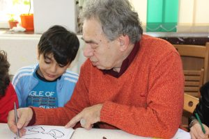 Copii şi vârstnici, implicaţi într-un proiect al Fundaţiei Principesa Margareta a României şi Fundaţia Comunitară Galaţi