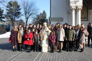 Eminescu, omagiat la Catedrala Arhiepiscopală și la statuia din parcul central