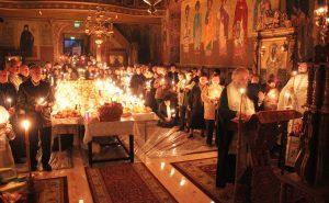 """""""Buna Vestire"""", sărbătorită la biserica de pe strada Română, construită pe vremea când Cuza era pârcălab al Galațiului"""