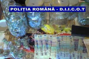 DIICOT Galați a capturat o grupare de traficanți de droguri, care vindea marijuana elevilor din licee