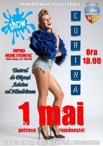 afis eveniment 1 mai