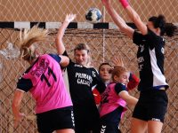 FOTOGALERIE. Ingredientele unui meci reușit: fete frumoase, viteză, faze tari și cartonașul roșu pentru antrenor!