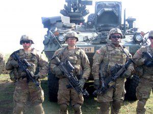 """La Poligonul """"Smârdan"""", Exercițiul """"Justice Eagles 17"""". US Army vine cu celebrele tancuri """"Abrams"""" și mașini """"Bradley"""""""