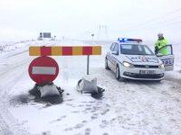 A fost închis și DN26, pe raza județului Galați. Circulația este închisă pe mai multe drumuri naționale din estul țării