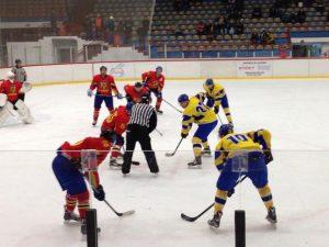 Prima victorie a tricolorilor pe patinoarul din Galați: România – Belgia, 9 - 1