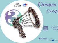 """La BIBLIOTECA FRANCEZĂ: """"Uniunea Europeană: realităţi şi concepte""""- un eveniment făcut de TINEri pentru TINEri"""