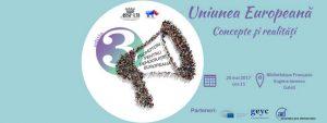 """La BIBLIOTECA FRANCEZĂ: """"UniuneaEuropeană: realităţi şi concepte""""- un eveniment făcut de TINEri pentru TINEri"""
