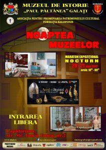 Noaptea Muzeelor la Galaţi