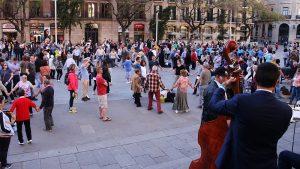 FOTOGALERIE. În luna mai, la Barcelona…