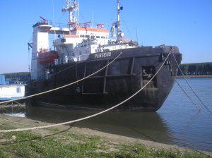 """Investiții în flota AFDJ. După modernizarea """"Perseus"""", un nou remorcher spărgător de gheață și o navă de intervenții"""