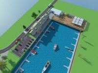 """S-a dat """"undă verde"""" noului port de ambarcațiuni. Va fi construit în """"estuarul"""" dintre Trecere Bac și Uzina de Apă"""