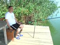 """Premieră națională la Balta """"Zătun"""": a fost organizat primul concurs de pescuit pentru nevăzători"""